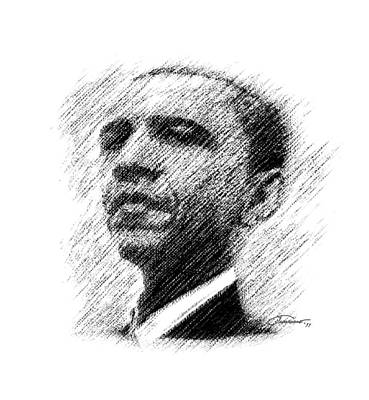Barack Obama Poster by John Travisano