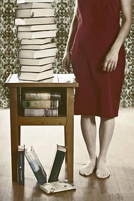 Books Poster by Joana Kruse