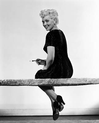 Born Yesterday, Judy Holliday, 1950 Poster