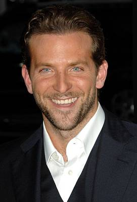 Bradley Cooper At Arrivals For All Poster by Everett