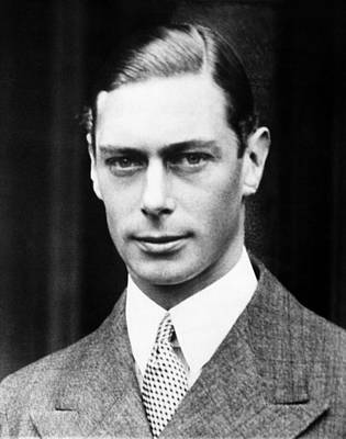 British Royalty. King George Vi Poster by Everett
