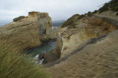 Cape Kiwanda Poster by Jerry Cahill