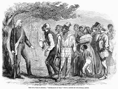 Civil War: Freed Slaves Poster