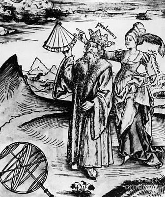 Claudius Ptolemy, Greek-roman Polymath Poster