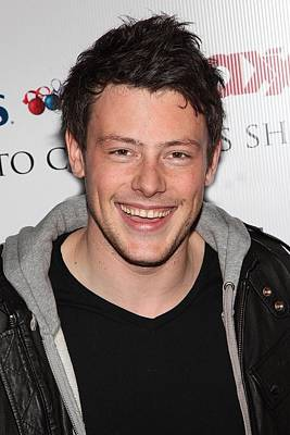 Cory Monteith At In-store Appearance Poster