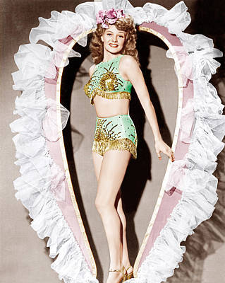 Cover Girl, Rita Hayworth, 1944 Poster by Everett