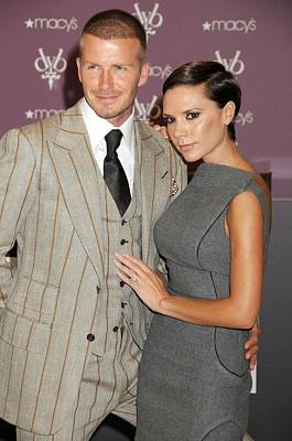 David Beckham Wearing A Tom Ford Suit Poster by Everett