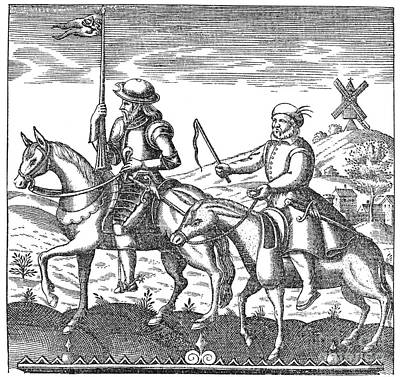 Don Quixote & Sancho Panza Poster