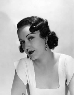 Fay Wray, Ca. 1930s Poster