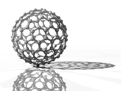 Fullerene Molecule Poster