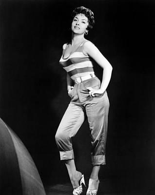 Gina Lollobrigida, Ca. Late 1950s Poster