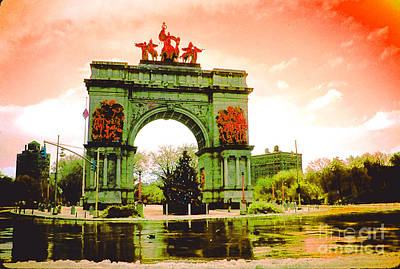 Grand Army Plaza Poster