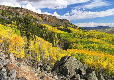Grand Mesa Autumn Vista Poster