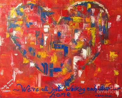 Heart Poster by Judy Morris