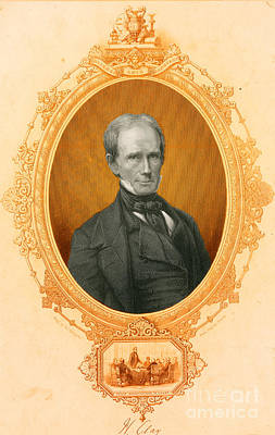 Henry Clay Sr., American Politician Poster by Photo Researchers