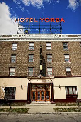Hotel Yorba Poster by Gordon Dean II