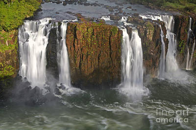 Iguacu Falls Poster by Keith Kapple