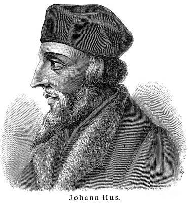 Jan Hus (c1369-1415) Poster by Granger
