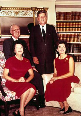 John F. Kennedy, Jacqueline Kennedy Poster by Everett