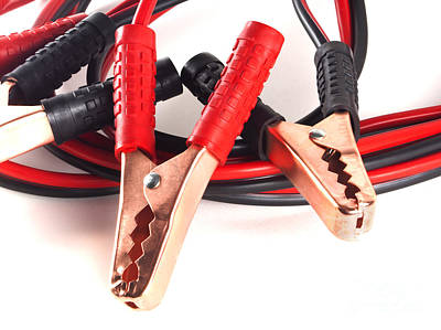 Jumper Cables Poster by Blink Images