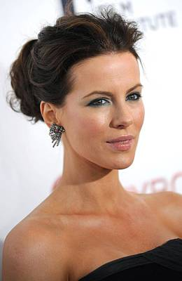 Kate Beckinsale At Arrivals Poster by Everett