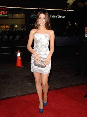 Kate Beckinsale Wearing A J. Mendel Poster