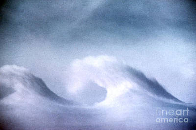 Kelvin-helmholtz Wave Clouds Poster by Science Source