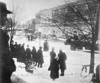 Knickerbocker Storm Damage, 1922 Poster
