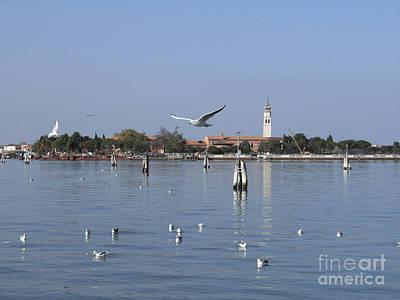 Lagoon. Venice Poster by Bernard Jaubert