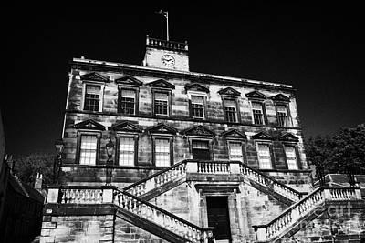 Linlithgow Burgh Halls On The Cross West Lothian Scotland Poster by Joe Fox