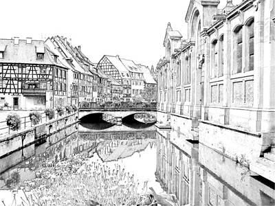 Little Venice Colmar France Poster by Joseph Hendrix