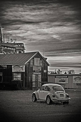 Poster featuring the photograph Lonely Vw by Randall  Cogle