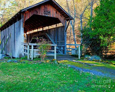 Lost Creek Bridge Poster by Jim Adams