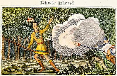 Metacomet (c1639-1676) Poster by Granger