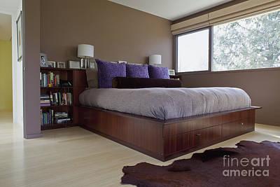 Modern Bedroom Interior Poster