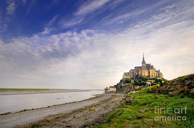 Mont-saint-michel France Poster