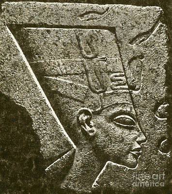 Nefertiti, Ancient Egyptian Queen Poster