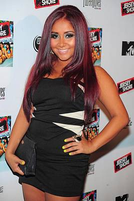 Nicole Snooki Polizzi At Arrivals Poster