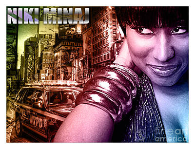 Niki Minaj Poster