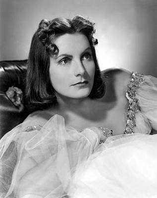 Ninotchka, Greta Garbo, Portrait Poster by Everett