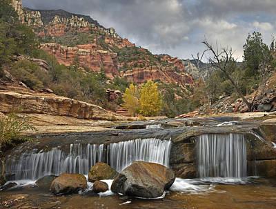 Oak Creek In Slide Rock State Park Poster