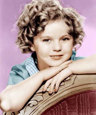 Our Little Girl, Shirley Temple, 1935 Poster by Everett