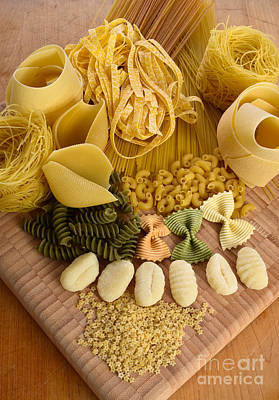 Pasta Poster by Photo Researchers, Inc.