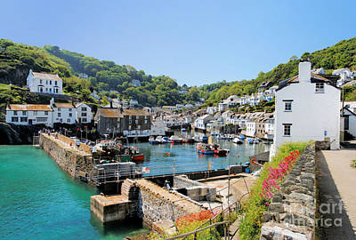 Polperro Poster by Carl Whitfield
