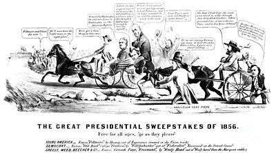 Presidential Campaign, 1856 Poster by Granger