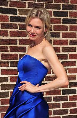 Renee Zellweger At Talk Show Appearance Poster