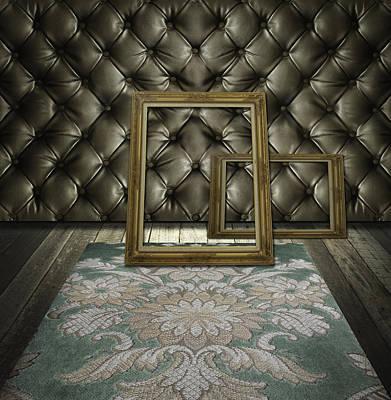 Retro Room Interior Poster