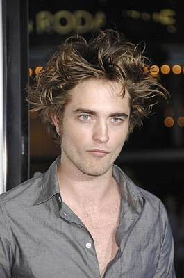 Robert Pattinson At Arrivals Poster