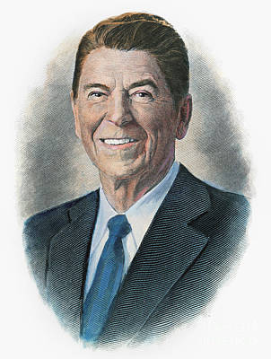 Ronald Reagan (1911-2004) Poster by Granger