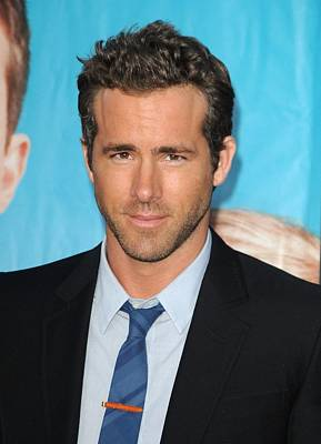 Ryan Reynolds At Arrivals For The Poster by Everett
